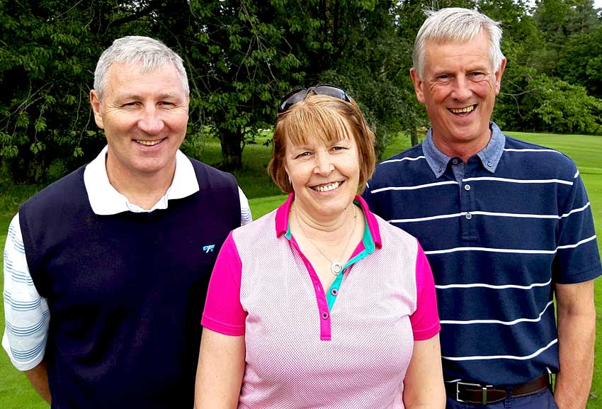 East Kilbride and Haremyres golfers at Riccarton 2019